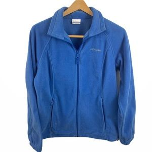 Columbia Full Zip Women's Fleece Size L